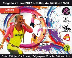 Affiche événement fitness 21 mai